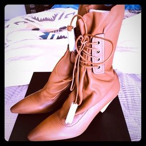 lace up tassel boot coach \u003e Up to 76
